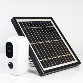 100% kabelfri med egen solstrøm.